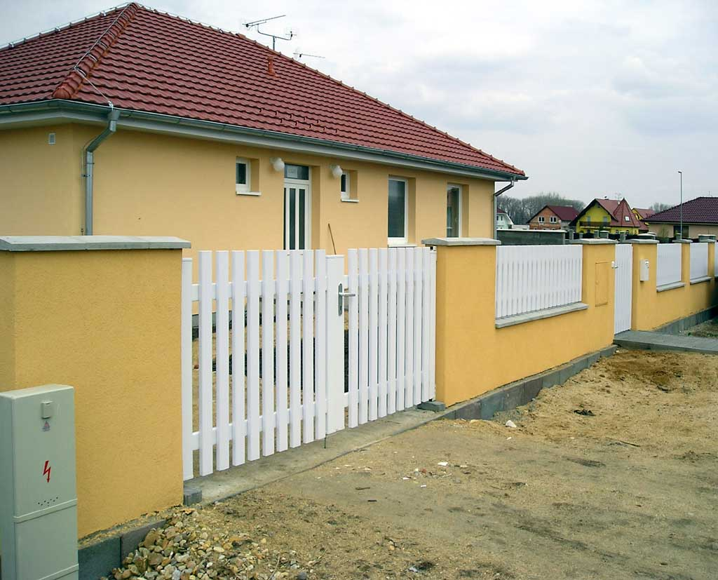 ogrodzenie budowlane